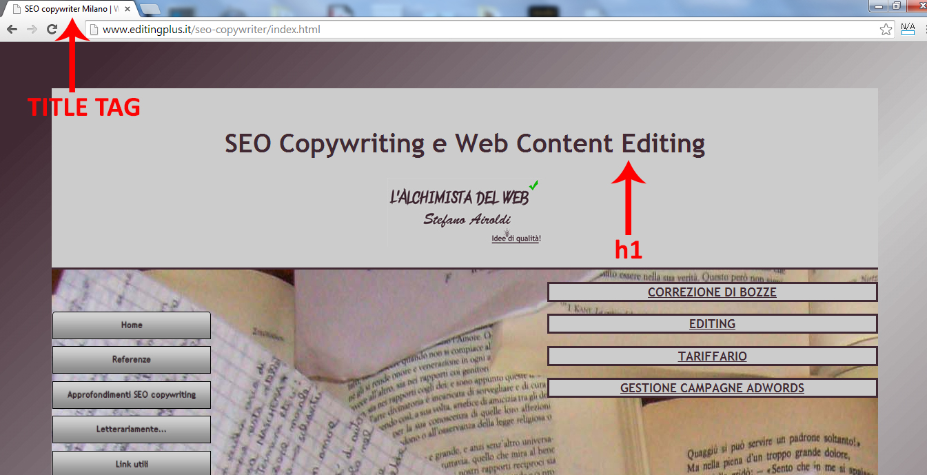 Web Writing e SEO Copywriting